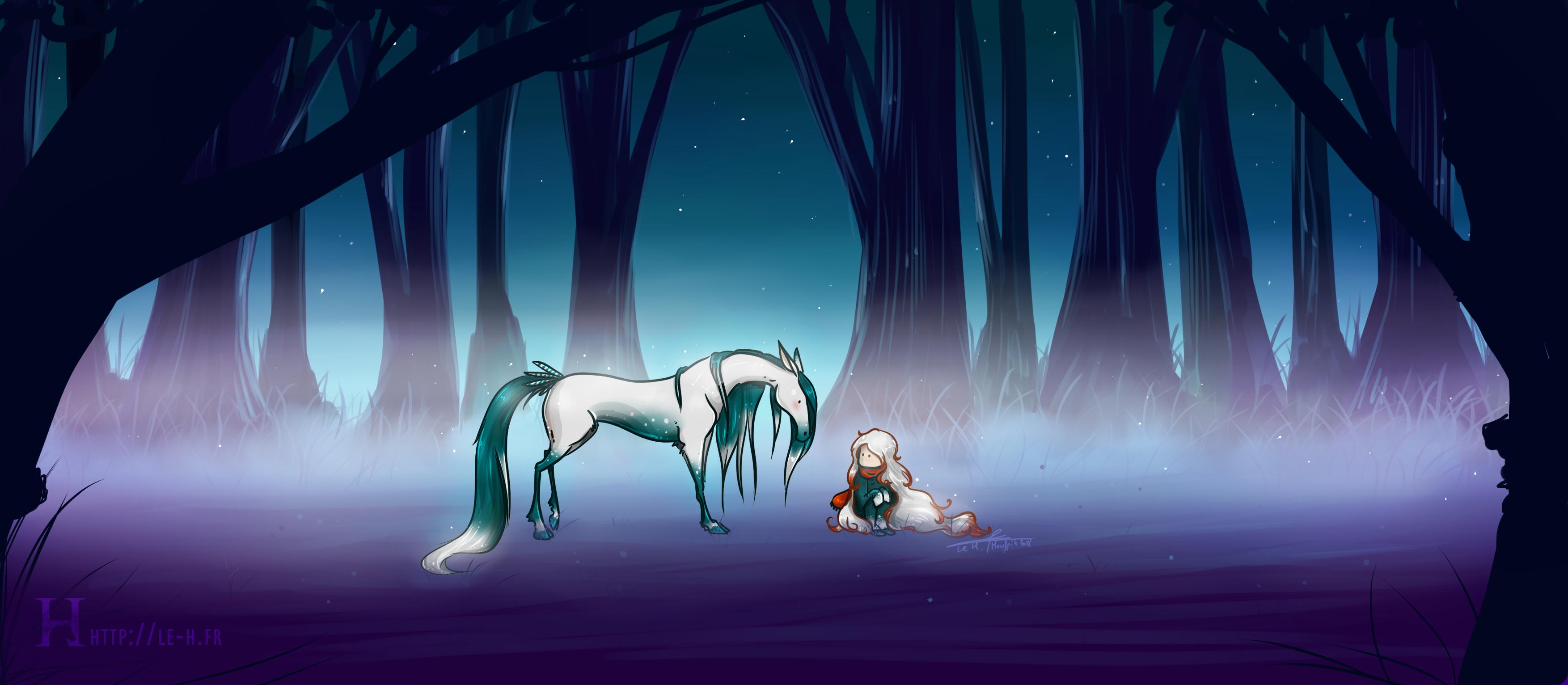 """[ Art ] """"Dream, little Princess."""""""